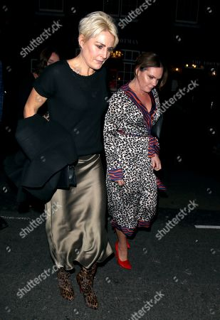 Louise Adams arriving at Marks Club