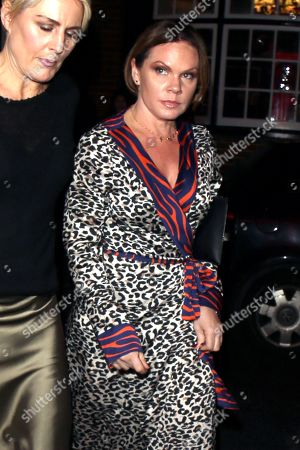 Stock Photo of Louise Adams arriving at Marks Club