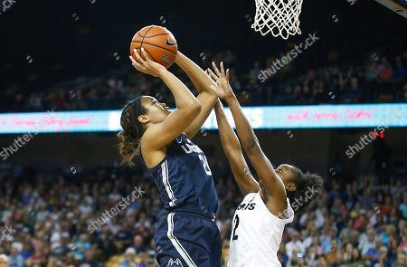 Michael Beasley, Arron Afflalo. Connecticut forward Napheesa Collier (24) shoots over Central Florida guard Korneila Wright (2) during the first quarter of an NCAA college basketball game in Orlando, Fla., on