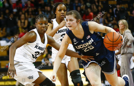 Editorial picture of UConn UCF Basketball, Orlando, USA - 17 Feb 2019