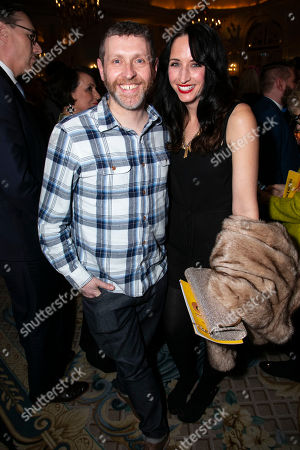 Stock Picture of Dave Gorman and Beth Gorman