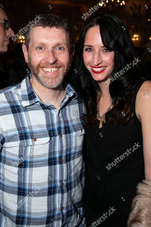 Dave Gorman and Beth Gorman