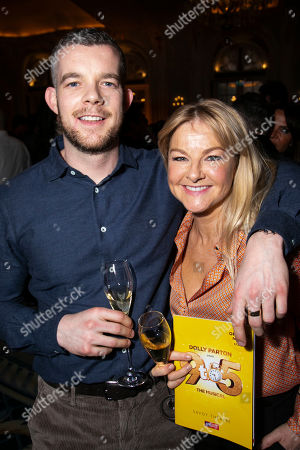 Russell Tovey and Sarah Hadland