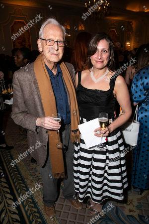 Michael Blakemore and Nina Dunn (Video Designer)