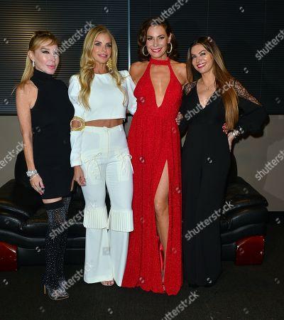 Marysol Patton, Alexia Echevarria, LuAnn de Lesseps and Adriana De Moura