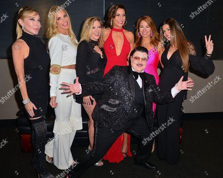 Marysol Patton, Alexia Echevarria, Ramona Singer, LuAnn de Lesseps, Jill Zarin, Adriana De Moura and Comedian Murray Hill