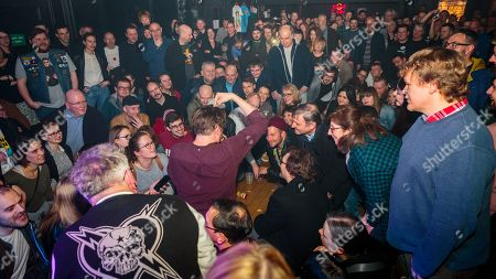 Editorial image of Art Brut in concert at Hare & Hounds, Birmingham, UK - 15 Feb 2019