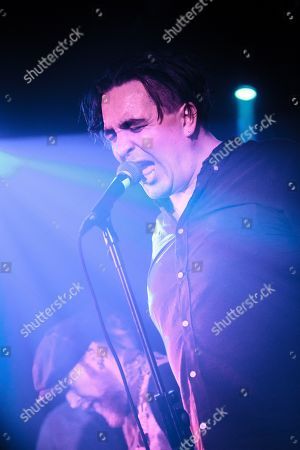 Editorial picture of Art Brut in concert at Hare & Hounds, Birmingham, UK - 15 Feb 2019