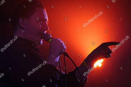 Stock Photo of Art Brut - Eddie Argos