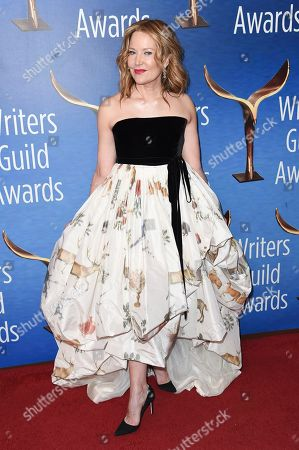 Stock Image of Stephanie Gillis attends the 2019 Writers Guild Awards at the Beverly Hilton Hotel on Sunday, Feb.17, 2019, in Beverly Hills, Calif