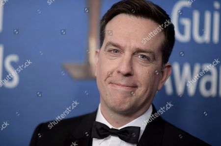 Stock Picture of Ed Helms attends the 2019 Writers Guild Awards at the Beverly Hilton Hotel on Sunday, Feb.17, 2019, in Beverly Hills, Calif