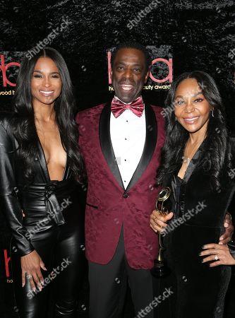 Stock Picture of Ciara, Otis Stokes, Yolonda Frederick