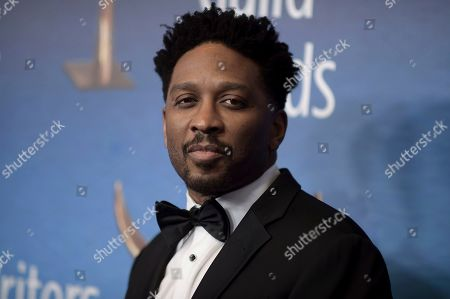 Stock Image of Joe Robert Cole attends the 2019 Writers Guild Awards at the Beverly Hilton Hotel on Sunday, Feb.17, 2019, in Beverly Hills, Calif