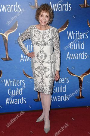Stock Picture of Joan Meyerson attends the 2019 Writers Guild Awards at the Beverly Hilton Hotel on Sunday, Feb.17, 2019, in Beverly Hills, Calif
