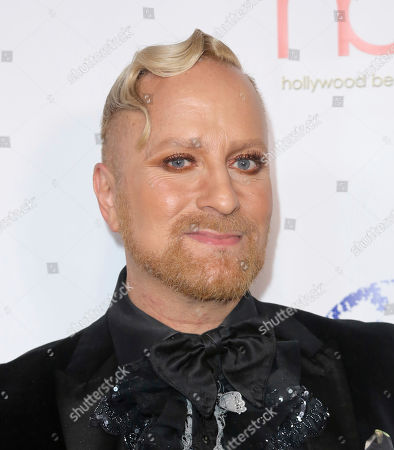 Gregory Arlt arrives at the 5th Annual Hollywood Beauty Awards at the Avalon Hollywood, in Los Angeles