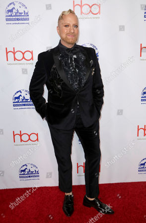 Stock Picture of Gregory Arlt arrives at the 5th Annual Hollywood Beauty Awards at the Avalon Hollywood, in Los Angeles