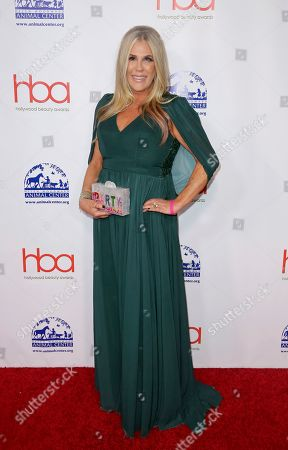 Lisa Stanley arrives at the 5th Annual Hollywood Beauty Awards at the Avalon Hollywood, in Los Angeles