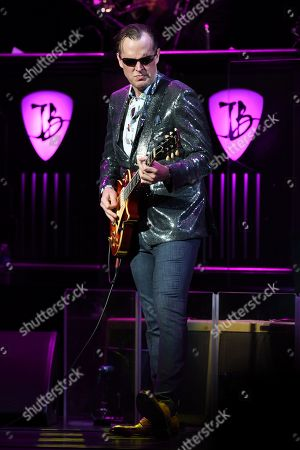 Editorial picture of Anton Fig performs with Joe Bonamassa in concert at The Broward Center, Fort Lauderdale, Florida, USA - 17 Feb 2019