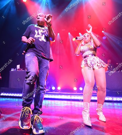 Stock Picture of Ja Rule and Ashanti