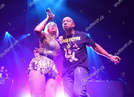 Editorial photo of Ja Rule and Ashanti in concert, San Francisco, USA - 17 Feb 2019