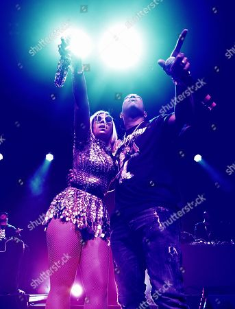 Editorial image of Ja Rule and Ashanti in concert, San Francisco, USA - 17 Feb 2019