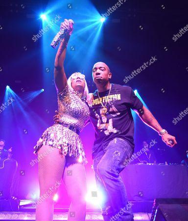 Stock Image of Ja Rule and Ashanti