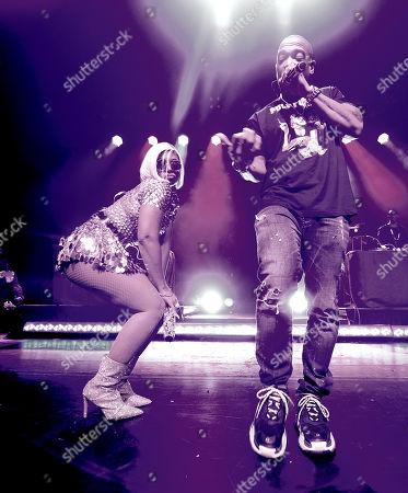 Stock Photo of Ja Rule and Ashanti