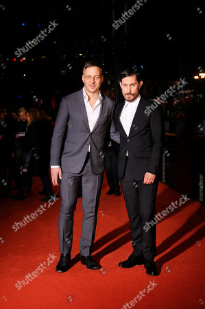 Stock Picture of Clemens Schick and Tom Wlaschiha