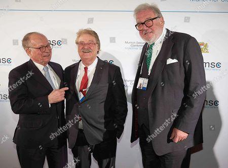 Wolfgang Ischinger, Elmar Brok, Juergen R. Grossmann