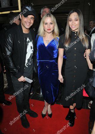 Ben Adams, Joanne Clifton and Katya Jones