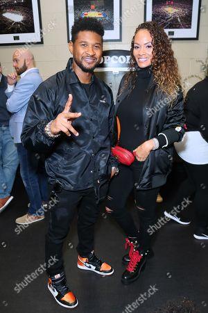 Usher and Evelyn Lozada