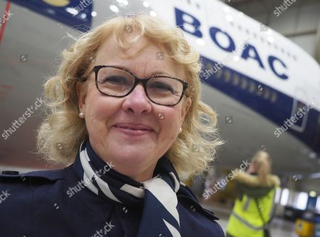 British Airways centenary celebrations London Stock Photos