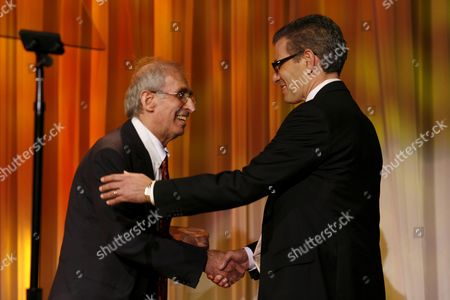 Stock Image of Gerald Levy and Dr. David T. Feinberg