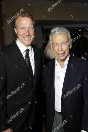 Dr. Neil Martin and Kirk Kerkorian