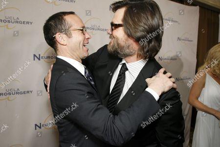 Richard Lovett and Jim Carrey