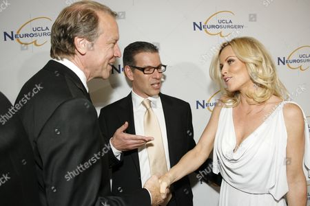 Stock Image of Dr. Neil Martin,Dr. David T. Feinberg and Jenny McCarthy