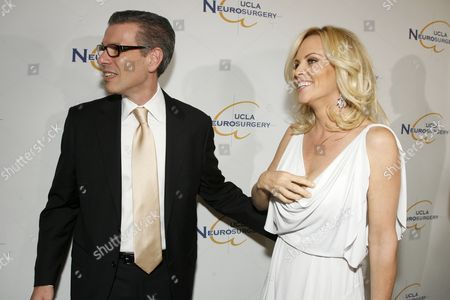 Stock Photo of Dr. David T. Feinberg and Jenny McCarthy