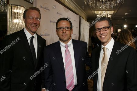 Dr. Neil Martin, Tony Pritzker and Dr. David T. Feinberg