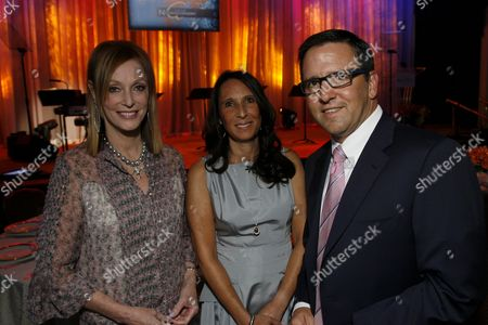 Edie Bronson, Jill Grey and Tony Pritzker