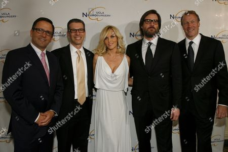 Tony Pritzker, Dr. David T. Feinberg, Jenny McCarthy, Jim Carrey and Dr. Neil Martin
