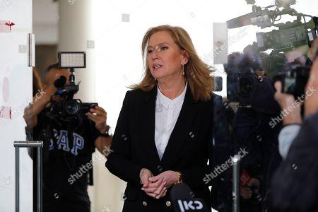 Editorial image of Tzipi Livni retires from politics, Tel Aviv, Israel - 18 Feb 2019