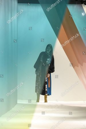 Roksanda Ilincic on the catwalk