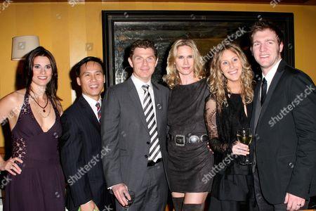 Milena Govich, BD Wong, Bobby Flay, Stephanie March, Cliff Chamberlain