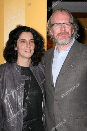 Tina Landau and Tracy Letts