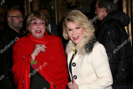 Phyllis Newman and Joan Rivers