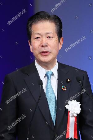 Coalition Komeito Party leader Natsuo Yamaguchi