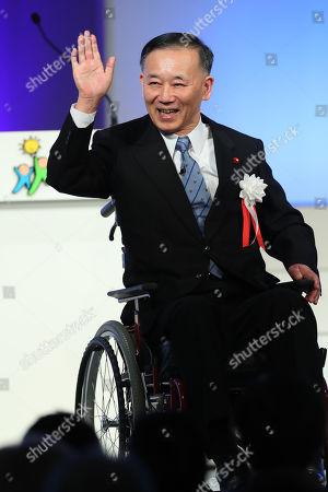 Stock Photo of Liberal Democratic Party (LDP) lawmaker Sadakazu Tanigaki