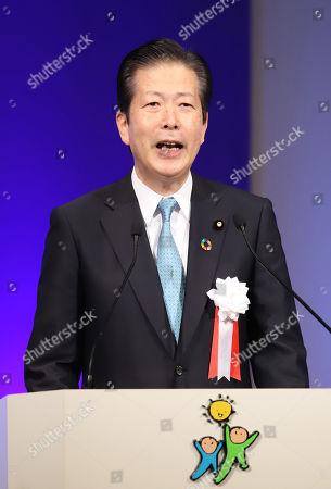 Ruling New Komei Party leader Natsuo Yamaguchi