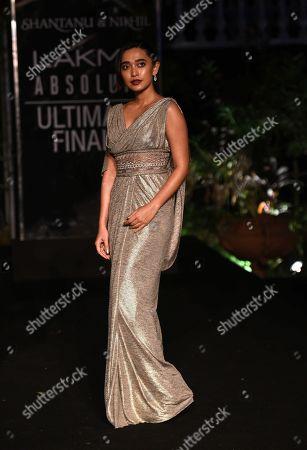 Sayani Gupta on the catwalk
