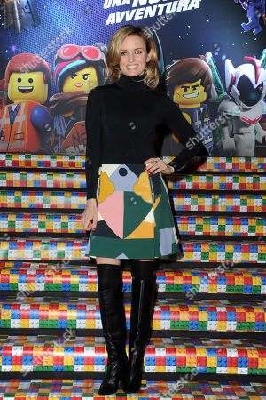 Editorial photo of 'The Lego Movie 2' film premiere, Milan, Italy - 17 Feb 2019